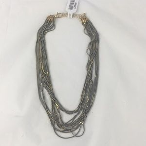 Free people slinky metal necklace